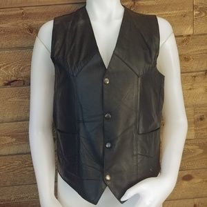 Route 66 Highway Leathers Vest